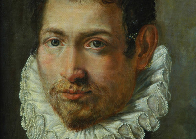 Copy of Portrait of a Young Man in oil, after an anonymous artist